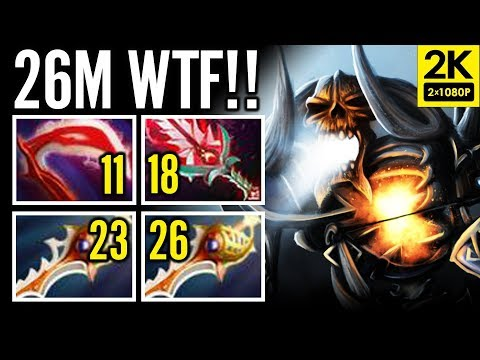 52 Kill WTF 26min X2 Divine Rapier Clinkz Carry by Moon Dota 2