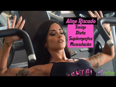 Aline Riscado - Treino, Dieta, Suplementos E Musculação