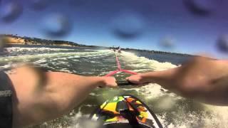 GoPro Knee boarding