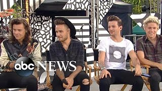 One Direction 1D - FULL INTERVIEW | Louis Tomlinson Talks Fatherhood on GMA | Good Morning America