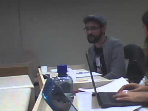 Comentário de Marcelo Ferreira no IV Seminário Discente da Rede Amlat