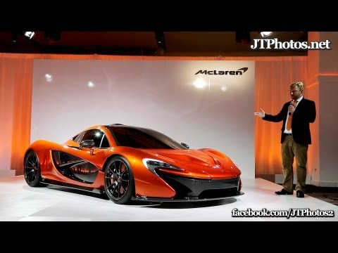 McLaren P1 private unveiling