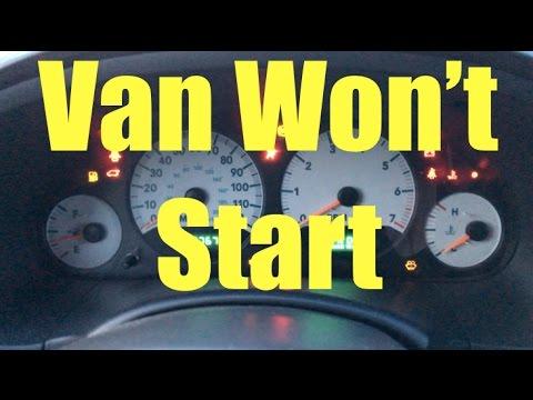 Van won't start! Help? - Dodge Grand Caravan