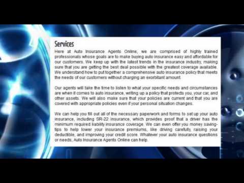Auto Insurance Agents Online