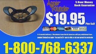 THE APPLE POUNDER (Infomercial)