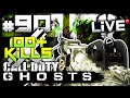 CoD Ghosts: 100+ LOKi GAMEPLAY?! - LiVE w/ Elite #90 (Call of Duty Ghost Multiplayer Gameplay)