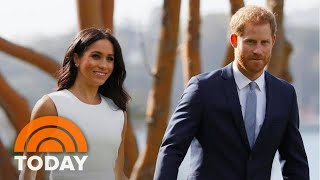 Duke And Duchess Of Sussex Receive Baby Gifts On Australia Tour | TODAY