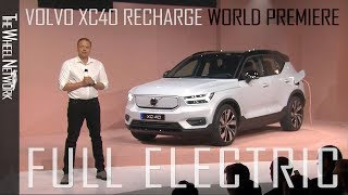 Volvo XC40 Recharge Electric SUV World Premiere – Full Press Conference