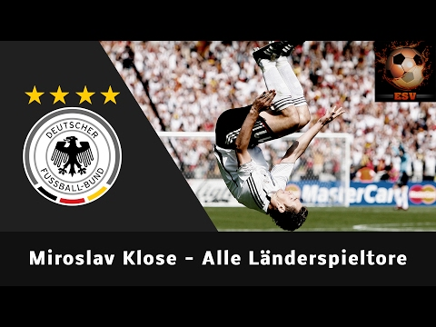 Epic Video: Miroslav Klose - Alle 71 Länderspieltore