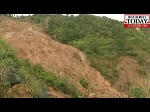 Jammu-Srinagar National Highway Closed Due To Landslides