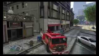 The Easiest Way To get A Fire Truck GTA 5