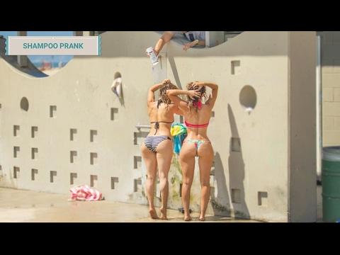 SHAMPOO PRANK   Broma épica del shampoo infinito en la playa