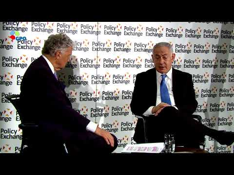 PM Netanyahu Visits Policy Exchange in London
