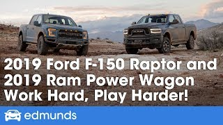 Ford F-150 Raptor and Ram Power Wagon — 2019 Off-Road Truck Review