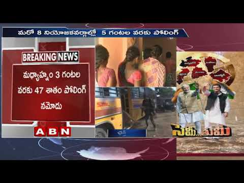 Chhattisgarh election 2018 ; 1st phase polling ends  | ABN Telugu