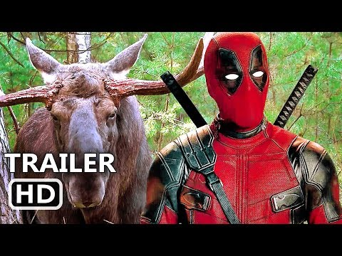 "DEADPOOL 2 ""Deadpool Loves Canada"" Trailer (2018) Superhero Movie HD"