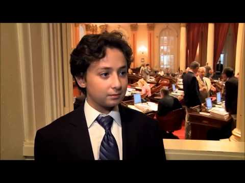 11 Year-old Goes to Congress!