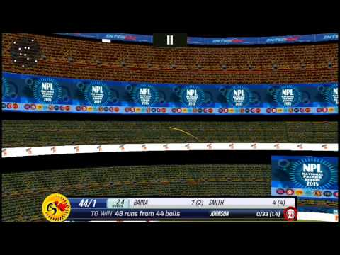 [Android] | Super Cricket 2 | National Premier League 2015 I Pro Mode | Csk V KXIP I 3rd Match