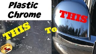 How to Remove Corrosion & Oxidation on PLASTIC CHROME