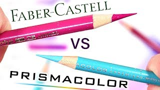 Prismacolor Premier VS Faber Castell Polychromos Colored Pencils - Which is better?