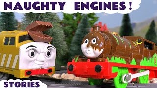 Thomas and Friends Naughty Toy Trains Game Episodes with Thomas Minis and Paw Patrol ToyTrains4u