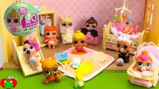 LOL Surprise Lil Sisters Baby Nursery