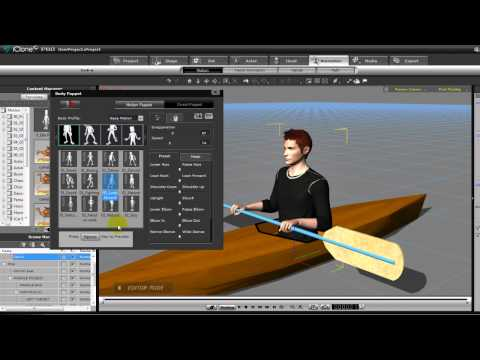 PADDLE TUTE Iclone 5 Tutorial by SmallWStudio