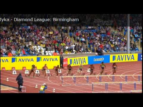 Pearson's Australian record Women's 100 m hurdles Diamond League Aviva Birmingham Grand Prix 2011