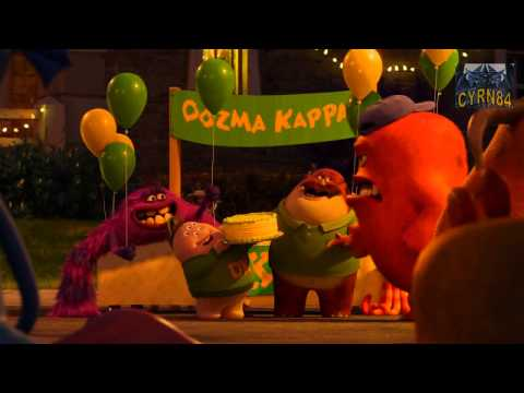 Monsters University Trailer 3 Oficial Audio Latino HD (Monster Inc. 2)