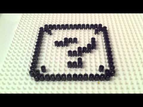 Nintendo Perler / Hama Bead - Mario Question Mark Block Tutorial