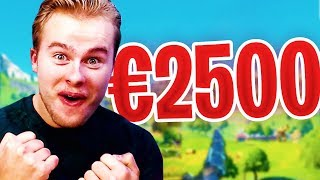 KIND DONEERT €2700,00 EURO! GROOTSTE DONATIES IN NEDERLAND
