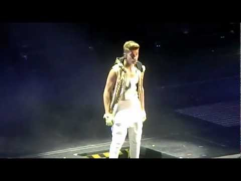 Justin Bieber One Time & Eenie Meenie Dublin 17th February video
