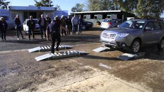 Live demonstration of Subaru Forester and Outback