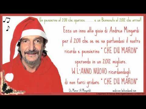 Du maron – Andrea Mingardi