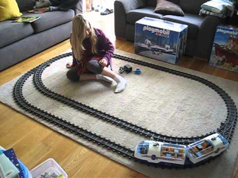 Playmobil remote control train 4018 4016 youtube - Train playmobil ...