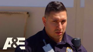 Behind Bars: Rookie Year: Hothead Learns Respect (Officer Stories Part 1 - Cordova) | A&E