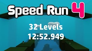 ROBLOX Speed Run 4 - 32 Levels in 12:52.949 [Former World Record]