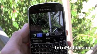 BlackBerry Bold 9900 camera walk through