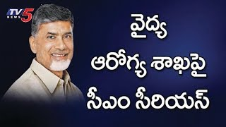 CM Chandrababu in AP District Collectors Meet
