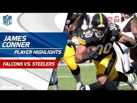 Every James Conner Play Against Atlanta Falcons Vs Steelers Preseason