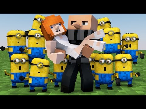Minecraft | MORPH HIDE AND SEEK - Minions Despicable Me Mod!