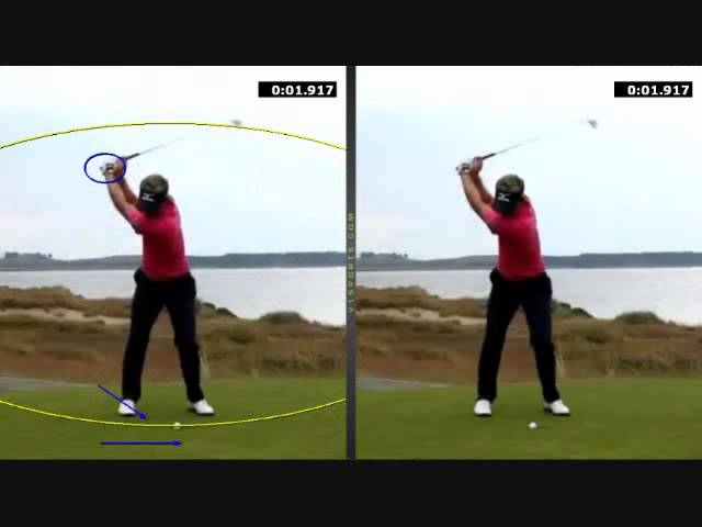 Luke Donald swing analysis by Patrick Damore Golf Instruction