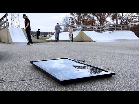 Do Not Skate A Samsung TV!