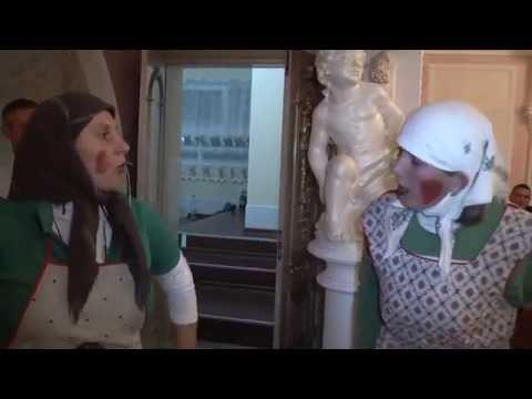 Озернянські кумці Смішна сценка на весіллі 1частина