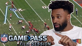 How Baker Mayfield and Jarvis Landry perfected their timing routes | NFL Film Session