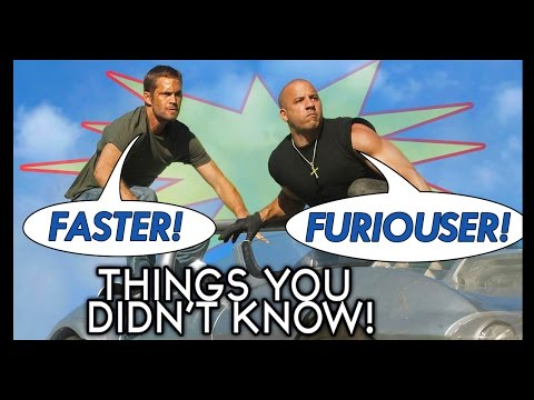 7 MORE Things You (Probably) Didn't Know About The Fast & Furious!