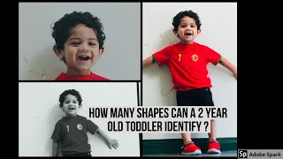 My 2 year old son identifying 30+ shapes