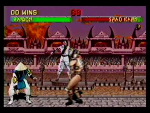 The Final Boss Shao Kahn Mortal Kombat 2