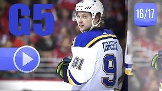 St. Louis Blues vs Minnesota Wild. 2017 NHL Playoffs. Round 1. Game 5. April 22nd, 2017. (HD)