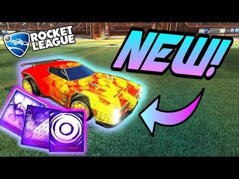 Rocket League NEW MYSTERY DECALS: Trigon, Chameleon, Storm Watch (Victory Crate Black Market Update)